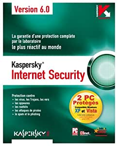 Kaspersky Internet Security 6.0 (offre spéciale 2 licences)