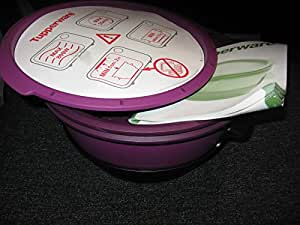 tupperware microgourmet micro vap 39 cuiseur vapeur pour four micro ondes violet 2 5 l 0 4 l. Black Bedroom Furniture Sets. Home Design Ideas