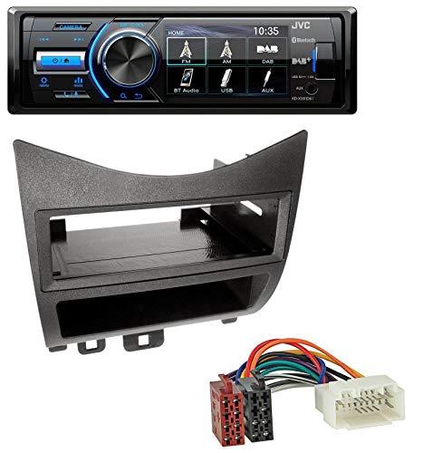 caraudio24 JVC KD-X561DBT Bluetooth MP3 USB DAB Autoradio für Honda Accord (2003-2007)
