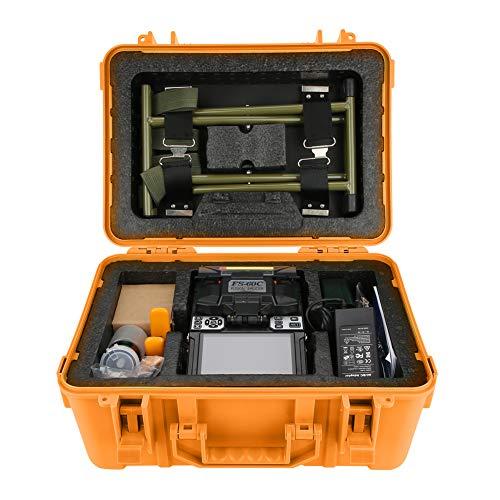 Fiber Optic Schweißgerät,ASHATA FS-60C Glasfaser Schweißmaschine Fiber