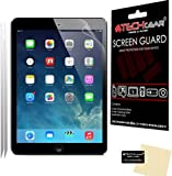 """[2 Pack] TECHGEAR® Apple iPad Air, iPad Air 2 (iPad 5 & 6) ANTI GLARE / MATTE LCD Screen Protectors With Cleaning Cloth & Applicator Card also for the iPad Pro 9.7"""""""