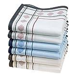 6 pañuelos para hombre - 100% algodón - Modelo 'Huanca'