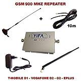GSM Handy Signal Verstärker Repeater ST900A für reguläres Handy Netz alle Anbieter + Zubehör