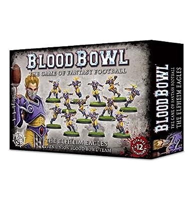 Games Workshop Jeux Atelier 99120999003Le Elfheim Eagles Blood Bowl Team Miniature