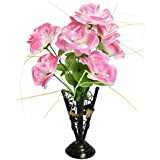 FANTASTIC Flower Vases / Flower Stand / Flower Vases With Flowers, Butterfly Design Made Of Metal, Flower Bucket Vases Flower Pots For Decor Best Home Decor Gift With Flower Red White Pink Purple & Yellow Rose Gift For Lover Gift For Girlfriend Gift F