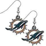 NFL Miami Dolphins Dangle Earrings