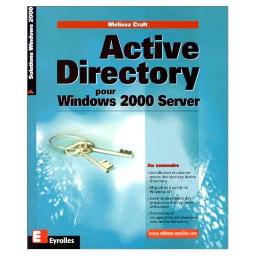 Active Directory pour Windows 2000 Server