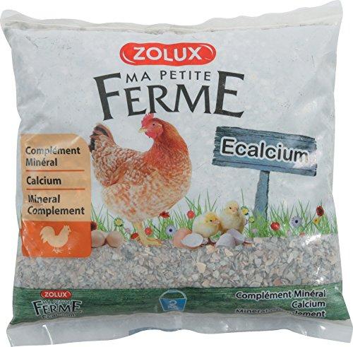 ZOLUX Alimentos complementaire gallinas e-calcium 2kg