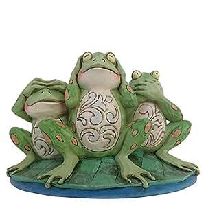 Heartwood Creek Croak No Evil Frogs