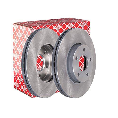 Preisvergleich Produktbild febi bilstein 24565 Bremsscheibensatz (vorne,  2 Bremsscheiben),  innenbelüftet,  Lochzahl 5