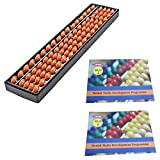 17 Rod Abacus Kit Single Color with 2 Wo...