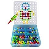 Jeux De Construction Loisirs Creatifs Mosaiques Jouet Educatif Puzzle Assemblage 352Pcs Enfant Fille Garcon 3 ans 4 ans 5 ans