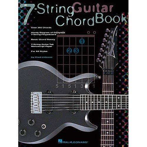 Akkordbuch für Gitarren, 7-saitig, Musiknoten (Sieben-saitige Gitarre)