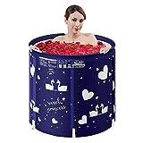 Soaking Baths Faltbare Badewanne, verstellbare Vollkörper-Kunststoff-Whirlpool-Badewanne für...