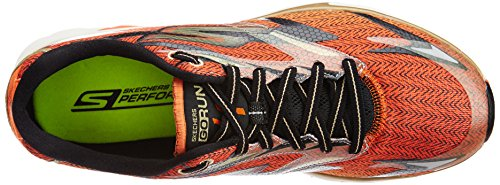 Skechers Go Run 4, Chaussures de running homme Noir (Bkor)