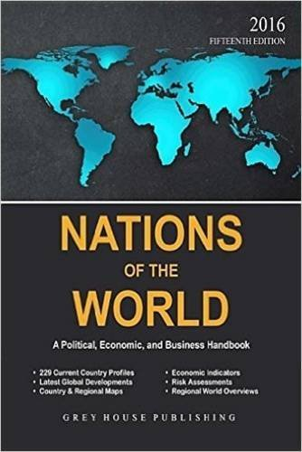 Nations of the World, 2016: Print Purchase Includes 2 Years Free Online Access (2015-11-01)