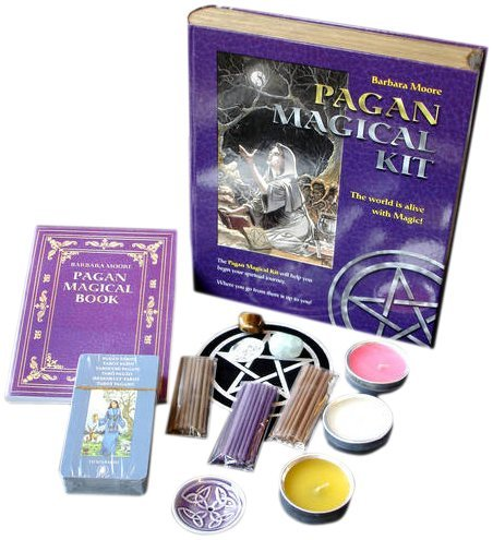 Pagan Magical Kit: Includes : A Pagan Tarot Deck A Set Of Crystals A Set Of  Ritual Candles Incense And Incense Holder A Velvet Tarot Cloth A Powerful  Book ...