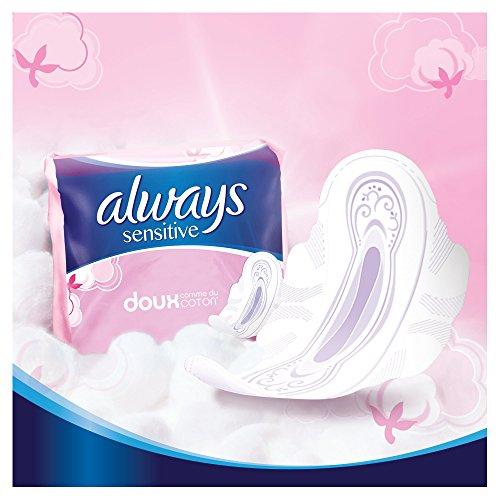 Always Sensitive Normal Always Ultra Damenbinden mit Flügeln, 24 Stück