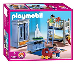 Playmobil 5328 la maison traditionnelle enfants for Playmobil chambre enfant
