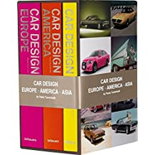 Car Design Europe, America, Asia : Myths, Brands, People : Coffret 3 volumes