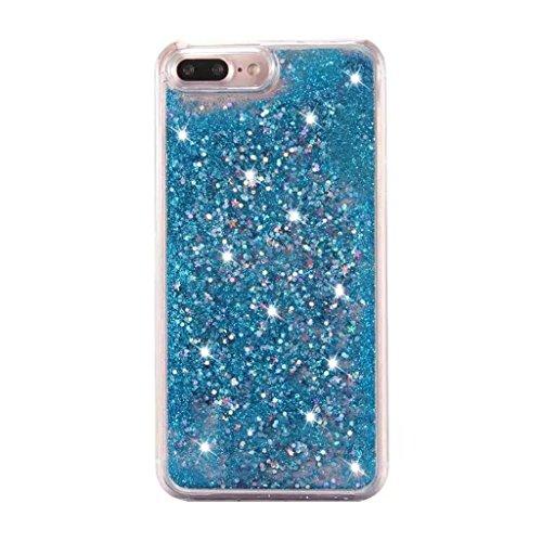 iPhone 6/6S Hülle - 3D Kreatives Design Luxus Shiny Flow Sand Entzückende Fließende Schwimmende Moving Shiny Glitzer Sequins Bling Cute Pattern Shell für iPhone 6/6S - Girl Boss 9-A