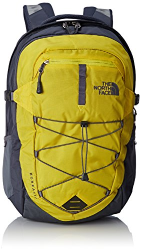 The North Face T0CHK4, Borealis Zaino Unisex, Giallo, Taglia Unica