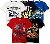 #4: Cherokee Boys' T-Shirt (Pack of 5)