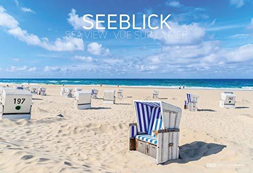 Seeblick 2020 - See View - Bildkalender quer (50 x 34) - Landschaftskalender - Natur - Strand und Meer - Küste - Nordsee - Ostsee - Wandkalender
