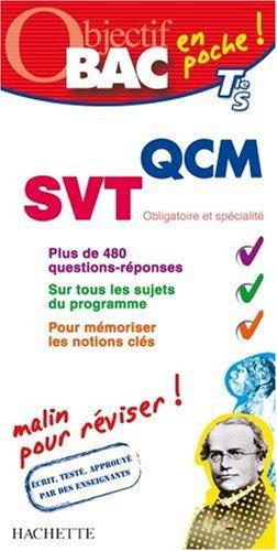 QCM SVT Tle S