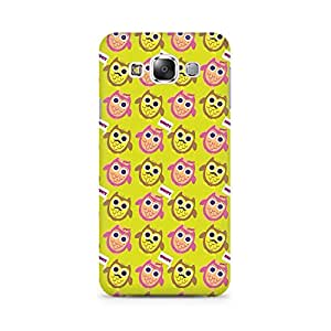 RAYITE Hoot Owl Pattern Premium Printed Mobile Back Case Cover For Samsung Grand 3 G7200