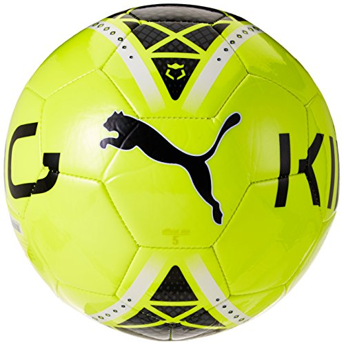 Pallone da calcio PUMA King Graphic, Safety Yellow/Black/White, 5, 082433 15