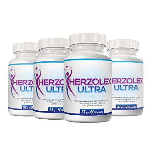 Herzolex Ultra – Diätpille für schnellen, effektiven Fettabbau und Gewichtsverlust | (1 Flasche)