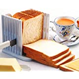 StillCool cocina Pan máquina de cortar rebanar pan cortador corte corta Guía de herramienta de la cocina