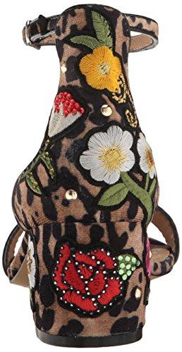 Steve Madden Womens Inca Dress Sandal Leopard Multi
