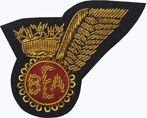 bea-british-european-airways-piloten-kabine-crew-gold-military-hand-made-badge-bestickt-patch-eisen-