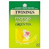Twinings Grüner Tee mit Mango & Litschi 20Pro Packung (2Stück)