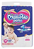 MamyPoko Pants Extra Absorb Monthly Jumbo Pack M Diaper (120 Pieces)