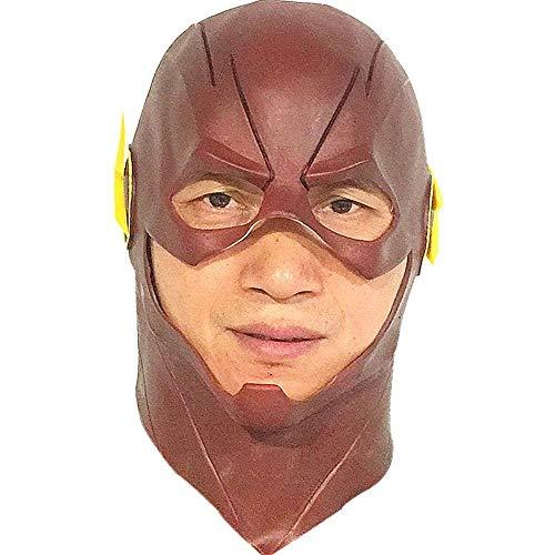 Rwdacfs Masken für Erwachsene,Flash-Maske Perücke Kostüm Abschlussball Latex Kopfschmuck Leistung ()