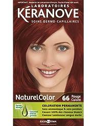 Laboratoires Kéranove - Coloration Permanente - Naturelcolor - 66 Rouge Cuivre