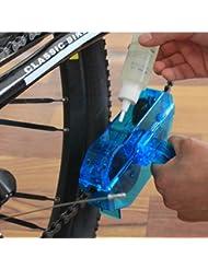 NingTeng Herramienta de lavado del limpiador de la cadena de la bicicleta de la bici