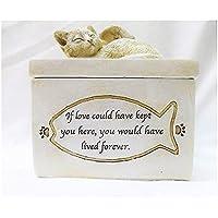 """Erinnerungsbox """"Angel Cat - Engel Katze"""" für Erinnerungen an die geliebte Katze"""