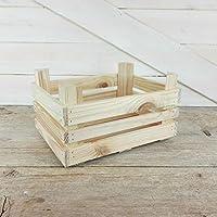 Caja de fruta de madera (22,5x17x12,5cm)