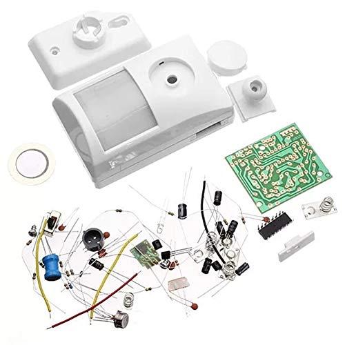 DASEXY Elektronisches DIY-Lernkit Elektronisches Infrarot-Alarmkit Heizung -