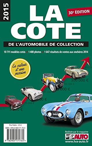 La cote de l'automobile de collection