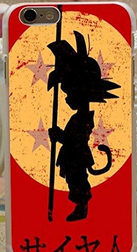 Phone Tattoo Coque Silicone Iphone 6 ou 6s DBZ (Livraison Gratuite en France) (Célébration) (Goku)