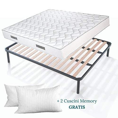 Evergreen Web Materasso Memory Mare Plus 24 Matrimoniale.Prezzo Evergreenweb Materassi Beds Cuscino Giardinaggio Shop