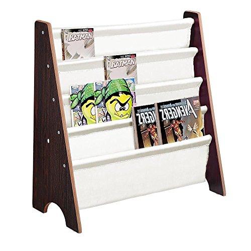 CTlite Bücherregal, aus Holz, für Kinder, Bücherregal, Organizer walnuss -