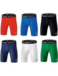Erima Bristol Tight Shorts Funktionsunterwäsche Schwarz Grün Blau Weiss Rot