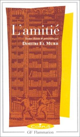 L'Amitié par Dimitri El Murr