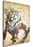 Instabuy Poster Dragon Ball Wanted Trunks SSJ - A3 (42x30 cm)